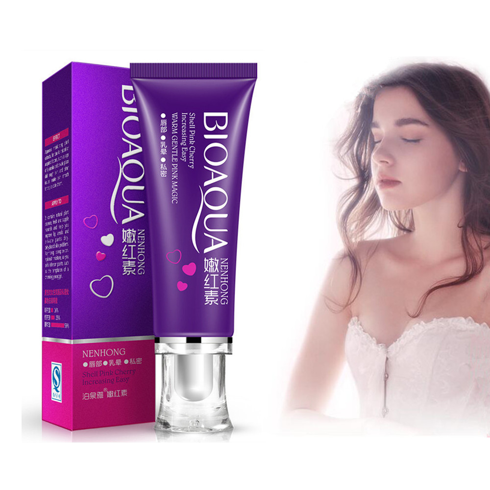 Women's Intimate Body Essence Cream Whitening Skin Revitalize Lips Areola Pink Remove Melanin Girls Privacy Products 30g 1PC