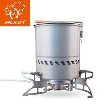 BULIN BL100-B15 estufa de gas + 1,5 olla acampar al aire libre senderismo cocina de gas quemar y utensilios de cocina