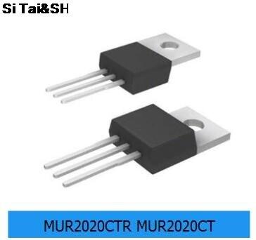 5PCS MUR2020CTR MUR2020CT  20A 200V  TO-220