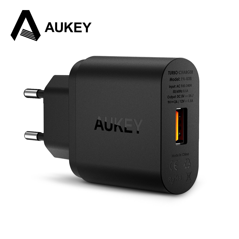 AUKEY Quick Charge QC2 0 Rapid USB Wall Charger Smart Phone Charging For Asus Zenfone 2
