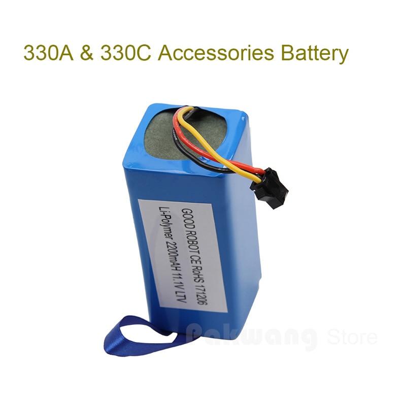 PAKWANG 1 Pcs 3000Mah Battery Of 330A&330C Robot Vacuum Cleaner Spare Parts