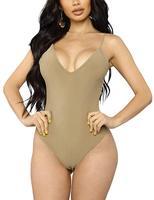Women Sexy Bodysuit Leotard Bandage Skinny Women's Bodysuits