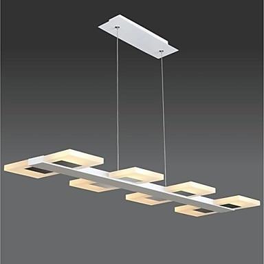 Simple Acrylic Modern LED Pendant Light For Living Room Dining-room Hanging Lamp Lustres de Pendente Sala Teto Lamparas 40cm acrylic round hanging modern led pendant light lamp for dining living room lighting lustres de sala teto
