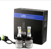 1pair H4 LED H7 H11 H8 9006 HB4 H1 H3 HB3 COB S2 Auto Car Headlight