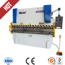 WC67Y 63T 2500 small hydraulic bending machinery for sale