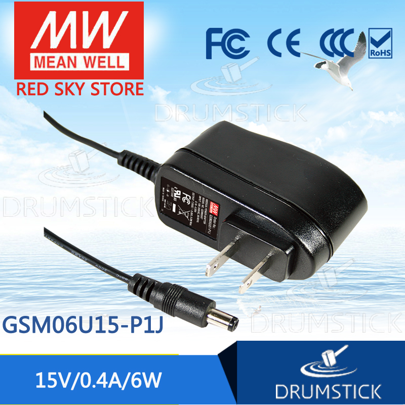 Advantages MEAN WELL GSM06U15-P1J 15V 0.4A meanwell GSM06U 15V 6W AC-DC High Reliability Medical AdaptorAdvantages MEAN WELL GSM06U15-P1J 15V 0.4A meanwell GSM06U 15V 6W AC-DC High Reliability Medical Adaptor