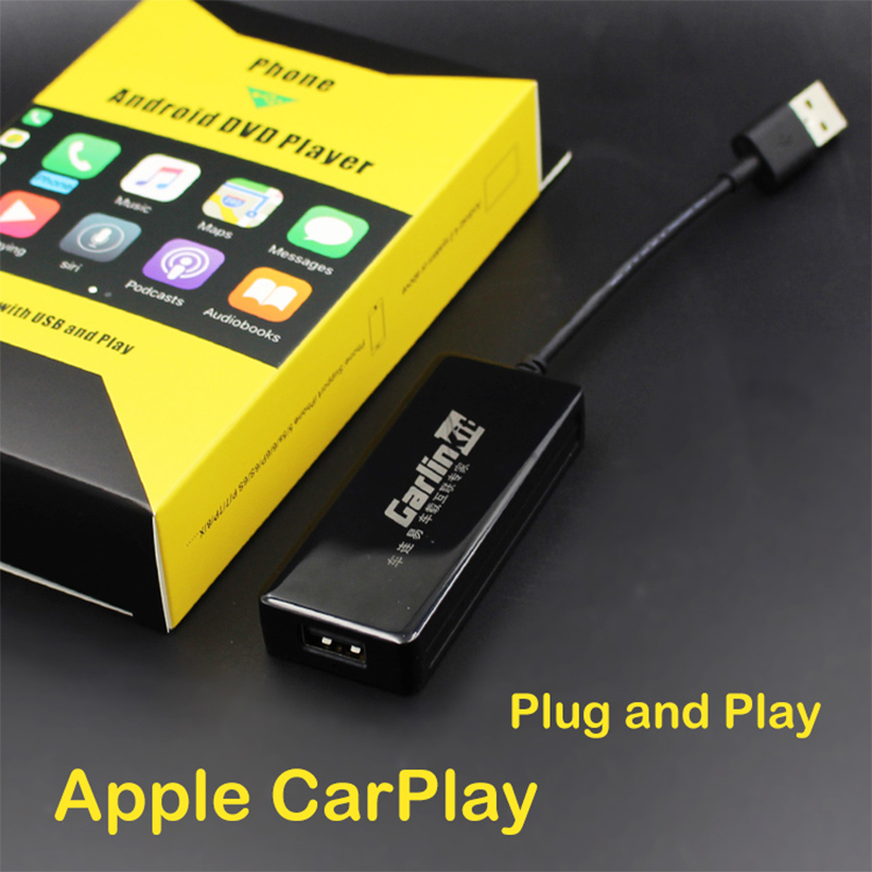 Carlinke USB CarPlay Adapter for Android Car head unit Zbox2 Plug and Play for Touch screen carlinke usb dongle apple ios carplay android auto with touch screen control for android car headunit