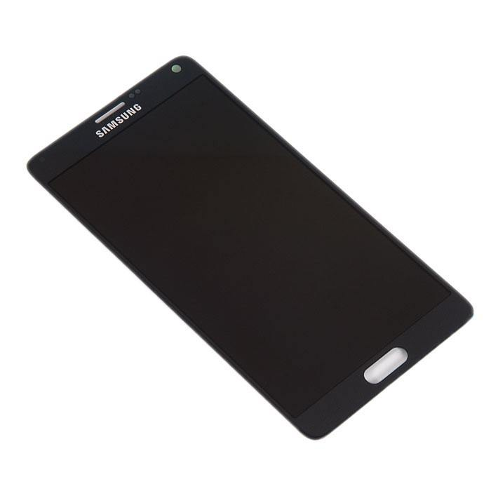 display assembly with touchscreen for Samsung for Galaxy Note 4 SM N910C black GH97 16565B