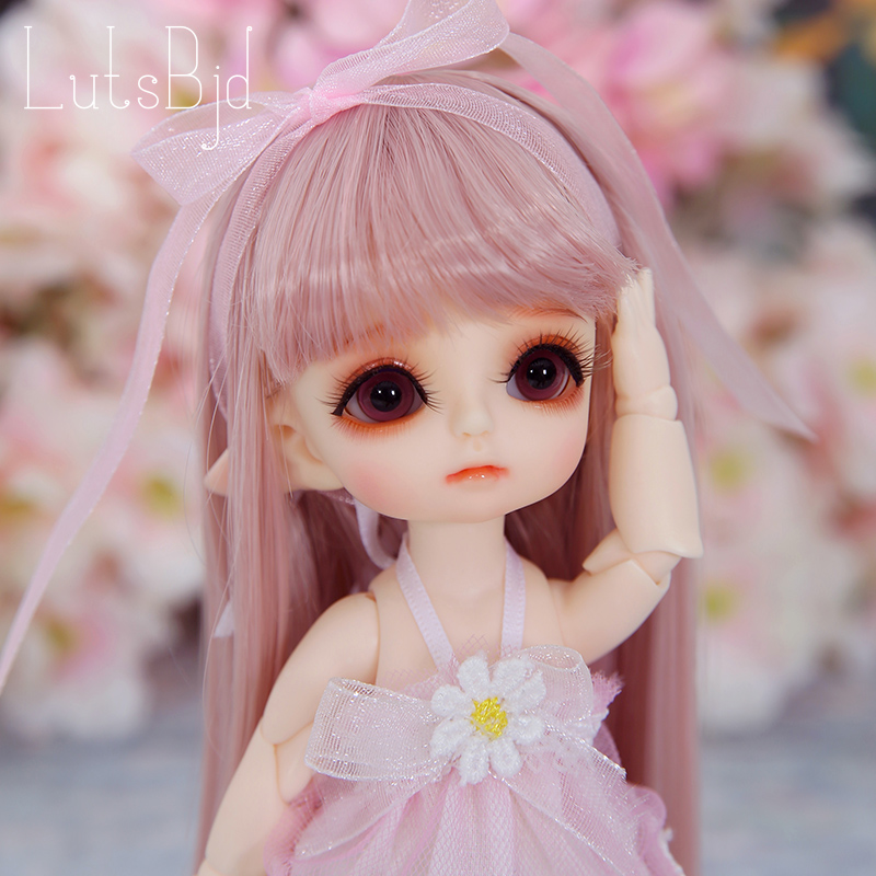 Lutsbjd Luts Tiny Delf Tyltyl Elf Head 1/8 BJD Doll Resin Figures Luts AI YOSD Kit Doll Toys For Girls Birthday Xmas Best Gifts free shipping fairyland littlefee reni bjd resin figures luts ai yosd volks kit doll not for sales bb soom toy gift iplehouse