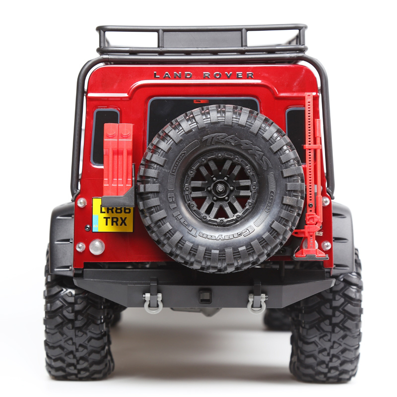 GRC LAND TRX4 RC 4WD D90 D110 DEFEND Metal Mark Labeling 1:10 1:8 R/C Model Toys Spare Parts Accessories