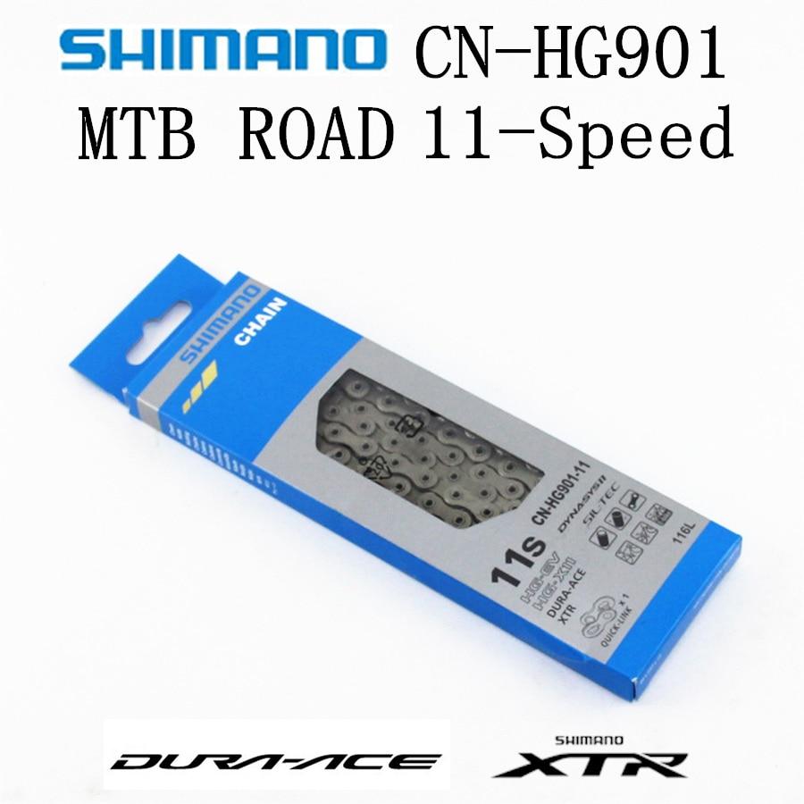 SHIMANO DURA ACE XTR HG901 HG900 Chain 11 Speed Mountain Bike Bicycle Chain DURA ACE CN