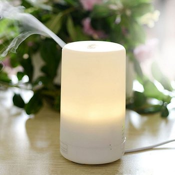 3 In1 LED Night Light USB Essential Oil Ultrasonic Aromatherapy Protecting Air Humidifier Dry Electric Fragrance Diffuser 2019