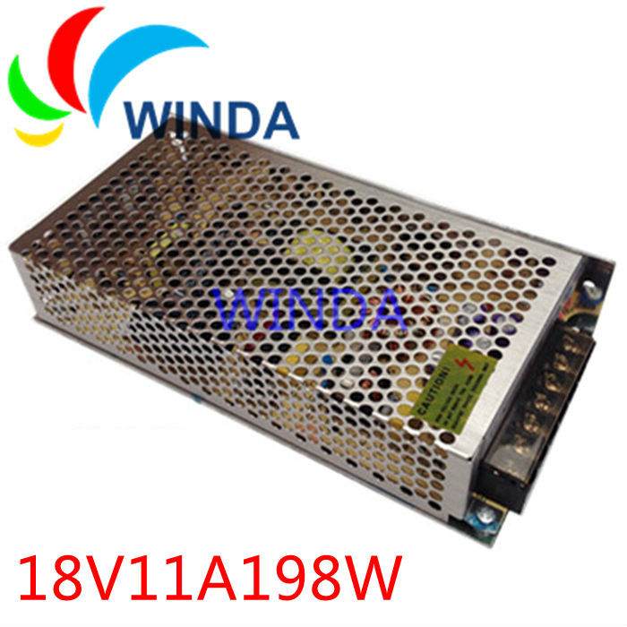 198W 18V 11A dual output switching power supply full range can be applies for all countries centralized power supply EMI 20v 1 2a power module 220v to 20v acdc direct switching power supply isolation can be customized