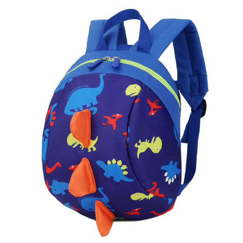 Cut Toddler Baby Harness Backpack Leash Cartoon Anti-lost Backpack Strap Walker Dinosaur Backpack Children Leash For 1-3 Years