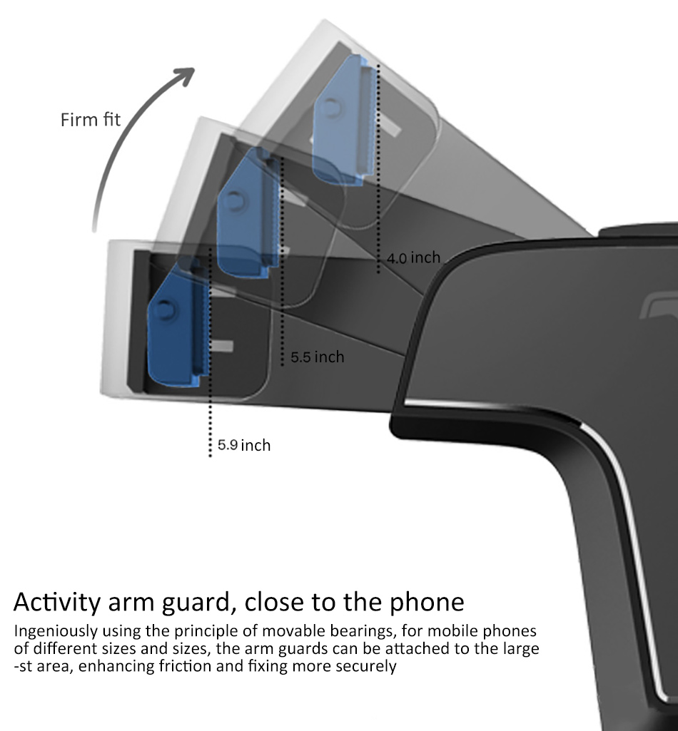 !ACCEZZ 360 Air Vent Mount For Huawei P20 iPhone 8 7 6 6s Plus Xiaomi 5 Samsung S8 S9 Degree Adjustable Gravity Car Phone Holder (8)