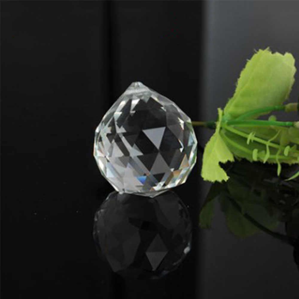 50 Mm/60 Mm/70 Mm/80 Mm/100 Mm Clear Geslepen Kristal Glas Facet Ball staren Bal Kristallen Bol Prisma Suncatcher Home Hotel Decor