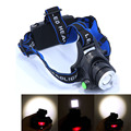 Hot sale 2000LM XM-L T6 LED Zoomable Headlamp Headlight 3Modes 18650 Bike Bicycle Flashlight Head Light Camping(Only Headlamp)