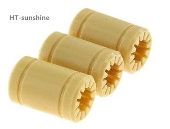 3D Yazıcı Aksesuarları Kendinden yağlamalı mühendislik plastik lineer rulmanlar yağsız rulmanlar LM8UU RJMP serisi
