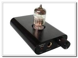 Finished L.TubeMos Se Pure  Class A HiFi 6N2 Tube Headphone Amplifier - Black