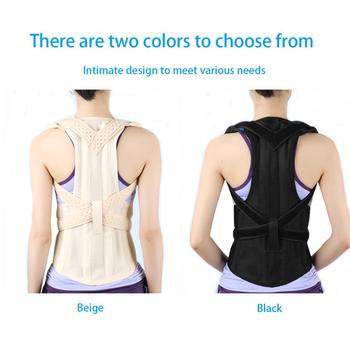 Back Correction Shoulder Posture Corrector Waist Shoulder Chest Support Brace Women Correct Body Elastic Belt For Health Care