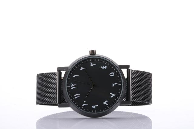 Árabe montres relojes simples pequeña cara del dial
