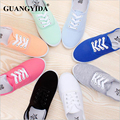 New fashion women canvas shoes breathable tide brand women flat shoes for woman shoes size 35-42
