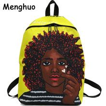 Menghuo 2018 New Fashion Women School Bag 3D Full Printing School Backpack Bag for Girls Women Backpack Men Travel Bags Mochilas