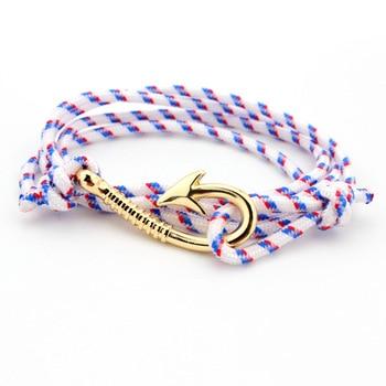 Bracelet Femme Avec Une Ancre
