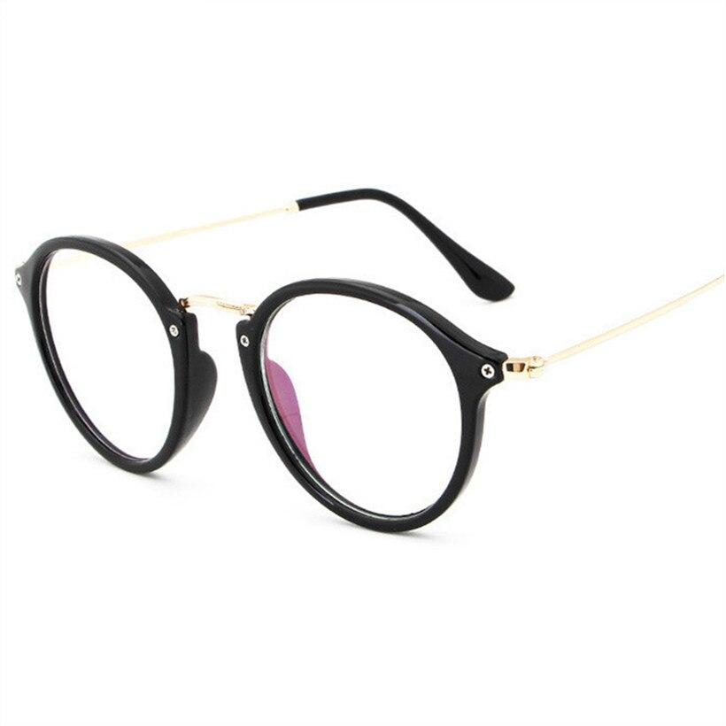 NYWOOH Optische Gläser Rahmen für Frauen Retro Myopie Brillen Rahmen Männer Jahrgang Rezept Transparent Klar Brillen
