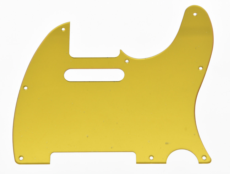 Gold Mirror TL Style Guitar Pickguard Scratch Plate