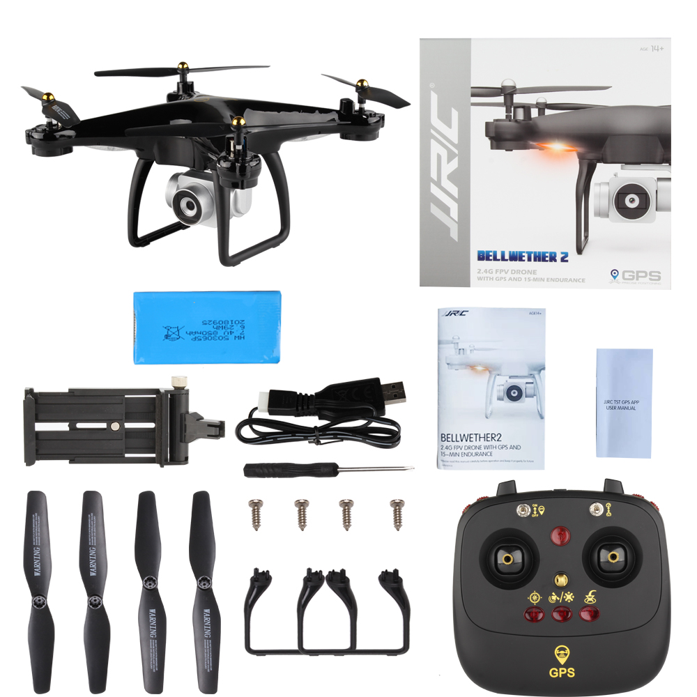 18 INKPOT Newest Upgrade JJRC H68G Rc GPS Drone With 7P HD 5G Wifi FPV Camera RC Helicopter Professional Drone Quadcopter 11