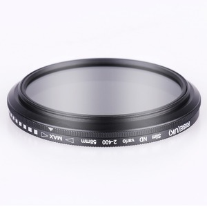 Image 3 - 49mm ND2 400 Neutral Density Fader Variable ND filter Adjustable for Canon EOS M5 M6 M10 M50 M100 M200 with 15 45mm lens
