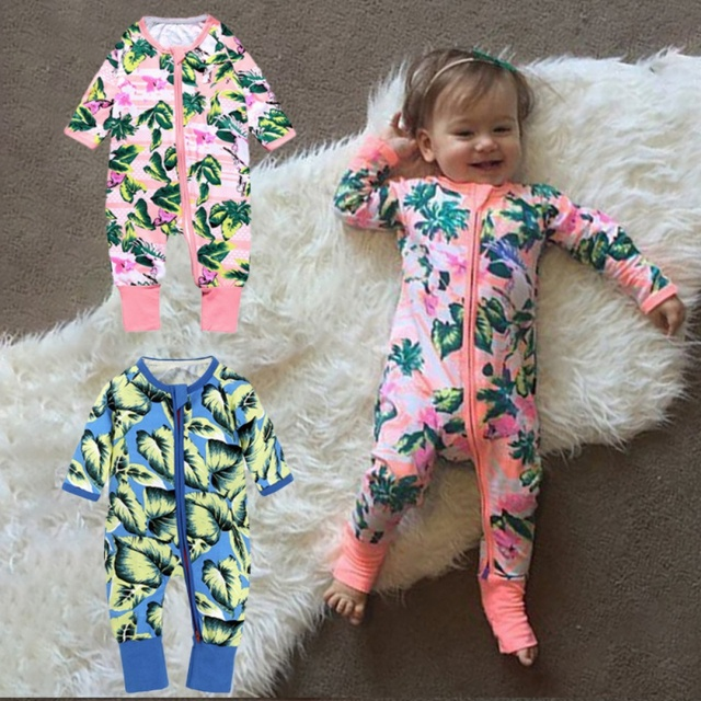 3155fb10d52 Hot Cotton Baby Rompers Newborn Clothing Outfit Autumn New Girl Boy Clothes  for babies Toddlers Long Sleeve Pyjamas Playsuit