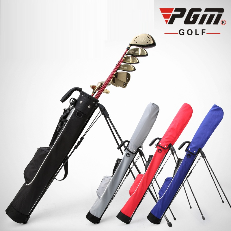 2019 Super léger Pgm Rack Golf sac support trépied pistolet sac léger Portable Golf paquet peut contenir 9 Clubs en 4 couleurs D0732