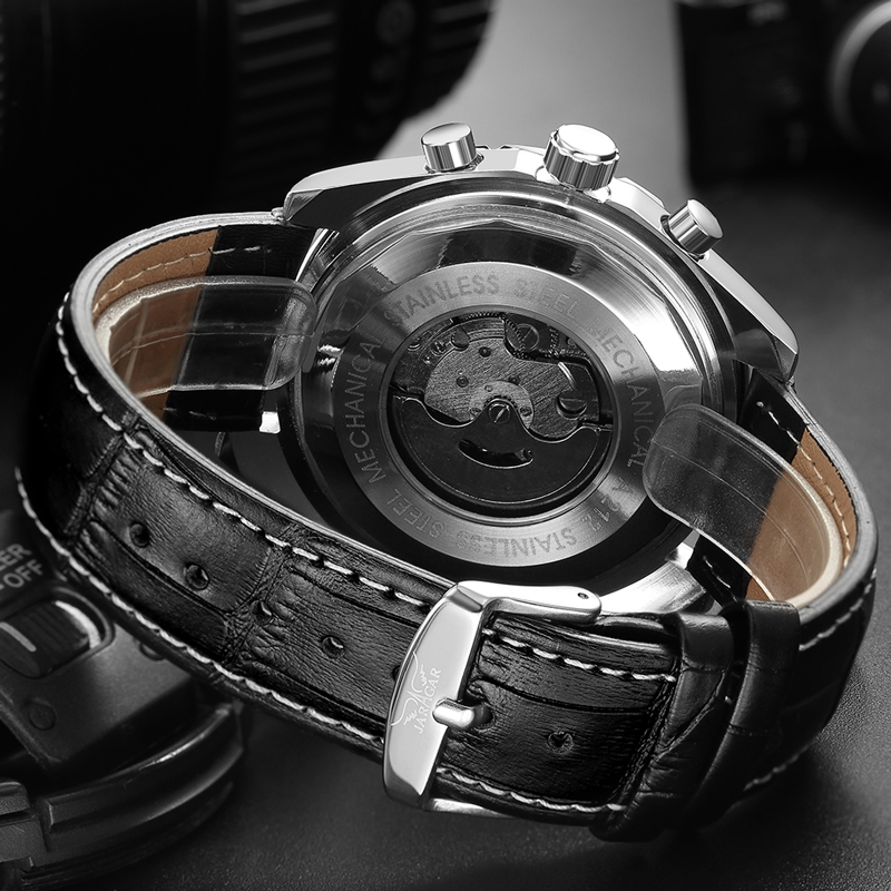 JARAGAR Top Luxury Brand Men Watch Mens Fashion Mechanical Watches Man Casual Business Waterproof Wristwatch Relogio JARAGAR Top Luxury Brand Men Watch Mens Fashion Mechanical Watches Man Casual Business Waterproof Wristwatch Relogio Masculino