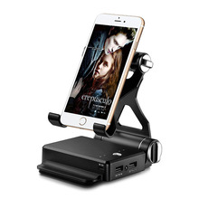 10400mAh Power Bank Foldable Phone Holder Mount Charger Stan