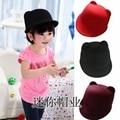 Child baseball cap woolen bear cap fedoras cat ears equestrian cap parent-child hat More color more size