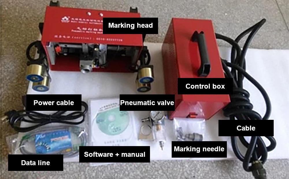 Portable Metal Dot Peen Marking Machine and Motorcycle Marking Machine
