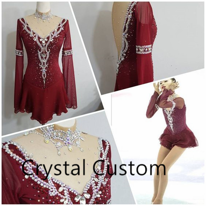 Custome Made Ice Skating Dress