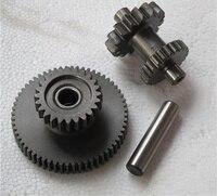 For Zongshen CB250 250cc Air Cooled Chain Drive Engine Starter Motor Gear Dual Link Gear Drive Gear Main&Counter Gear new