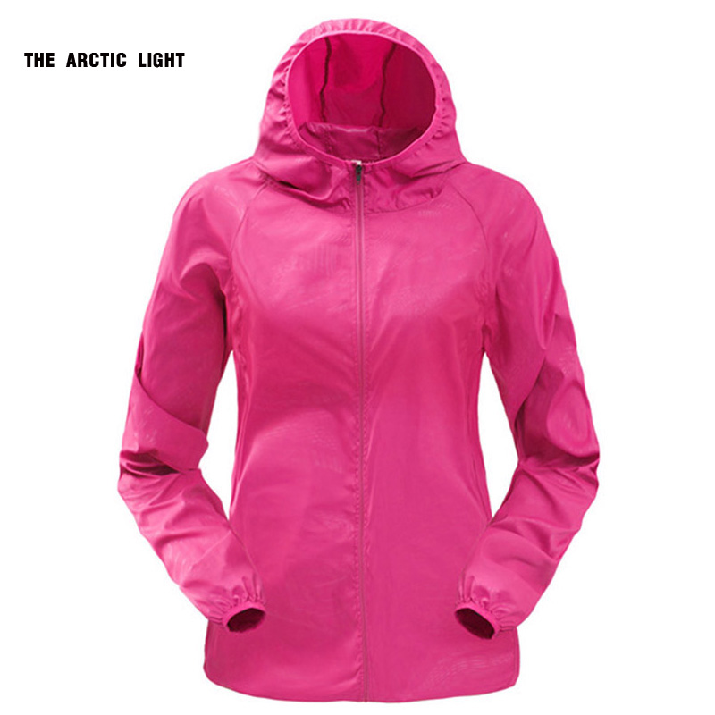 Women Men Sun-Protect Ultralight Waterproof Jacket Bike Bicycle Windbreaker Outdoor Running Camping Hiking Sport Rain Coat(China)