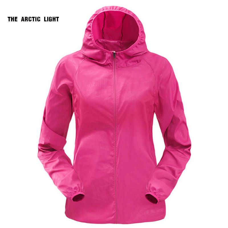 eb216146 Женская Мужская Солнцезащитная Ультралегкая непромокаемая куртка  велосипедная ветровка для бега на открытом воздухе походная Спортивная .