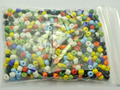 800 Mixed Color Opaque Glass Seed Beads Rondelle 4mm (6/0)