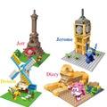 Nueva llegada súper alas versión escena modelos educativos diy bloques de construcción de montaje juguetes de regalo de navidad de cumpleaños para los niños