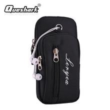 Waterproof 5.5 Inch Mobile Phone Arm Bag Unisex Sports Jogging Arm Bag Fitness Noctilucent Night Running Luminous Phone Bag