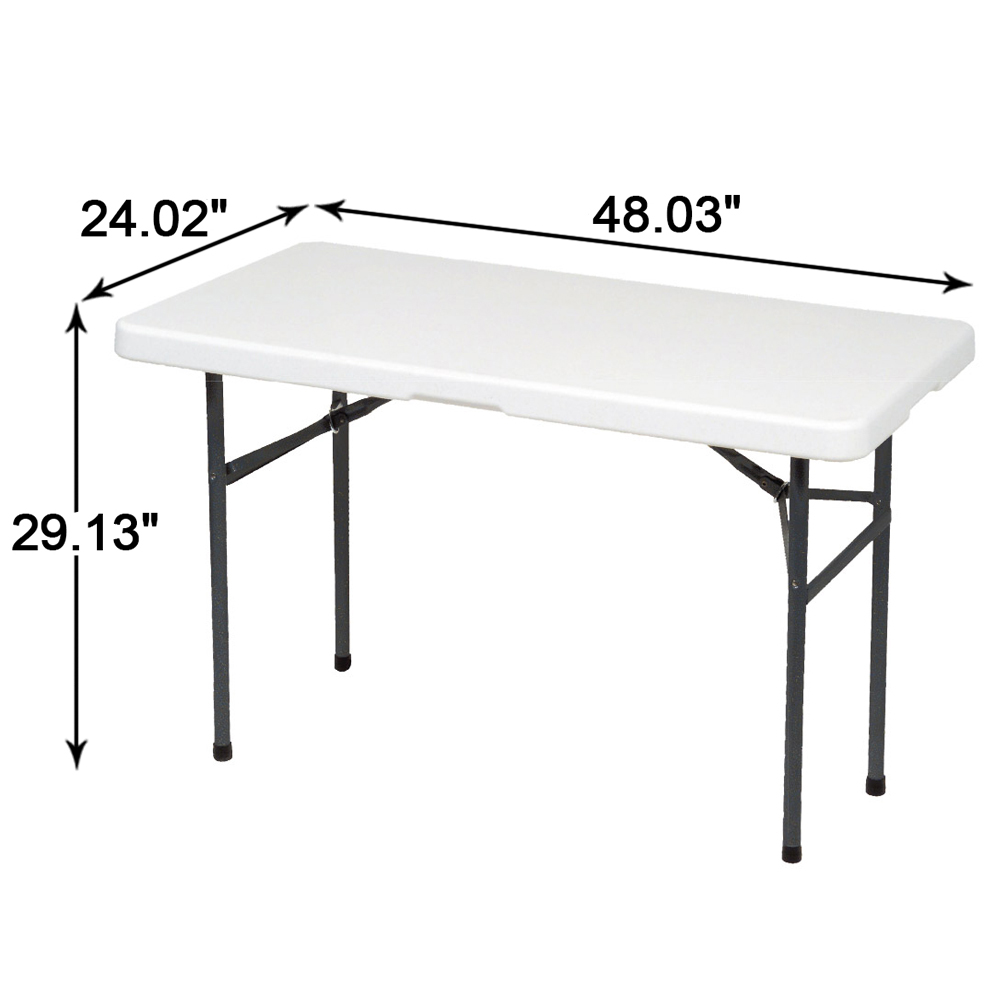 Aliexpress Buy Alextend Folding Utility Table 48 03 x 24 02