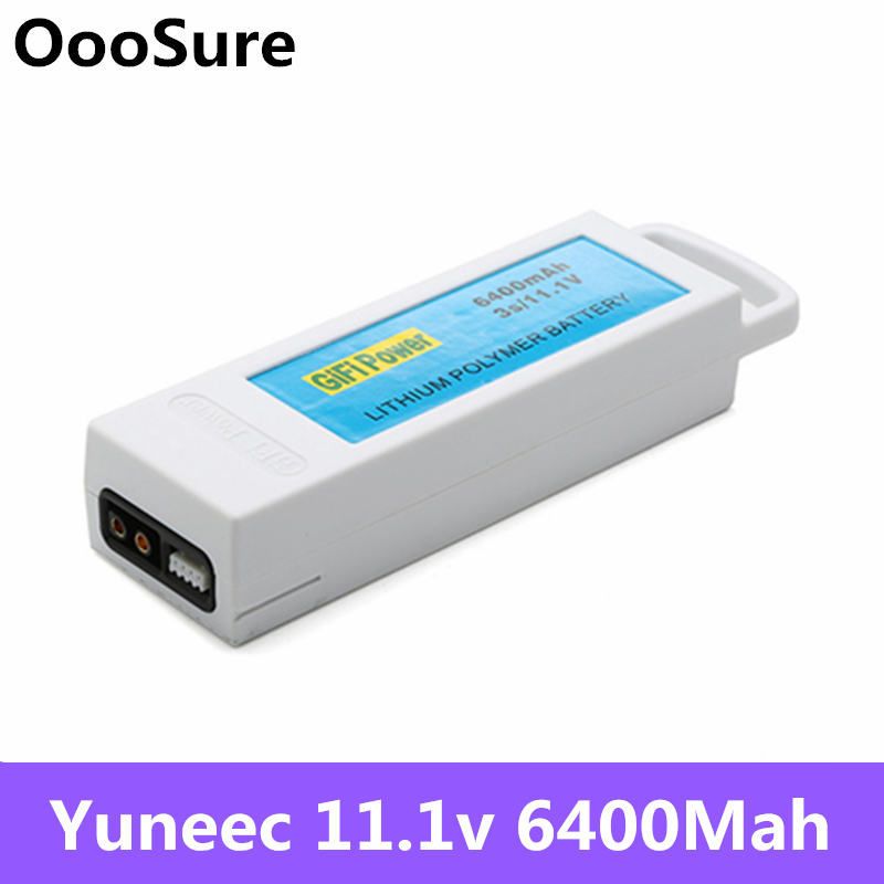 11 1V 6400mAh 3S Upgarded lipo Lithium RC Battery Rechargeable Battery For Yuneec Q500 Q500 RC