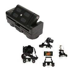 Desktop Camera Rail Tabela Car Dolly Car Video Slider Faixa Para canon 60d 650d 1000d 550d 5d3 nikon sony dslr câmeras gopro telefone