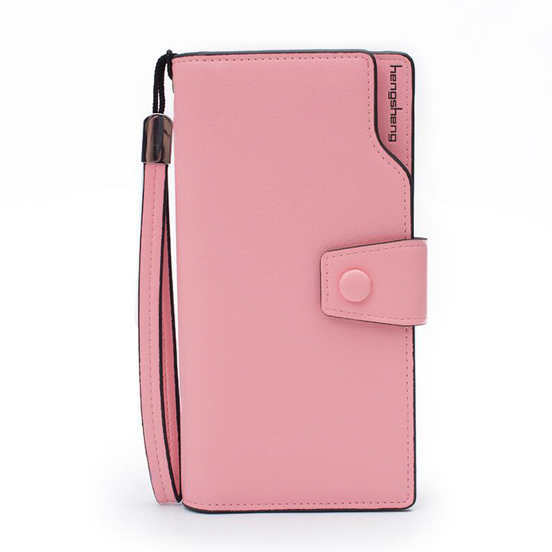 Pink font b women b font font b wallets b font pu leather