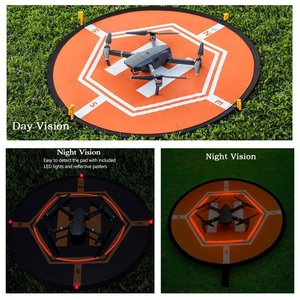 Image 3 - 80CM DJI Drone Fast fold Luminous Parking Apron Foldable Landing Pad for FIMI X8 Mavic Mini Air 2 Pro Phantom 3 4 Inspire 1 2